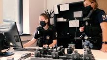 Bodycams in docking station