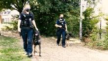 Politie op patrouille met Reveal bodycam