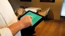 Muziekkeuze via tablet met SONOS